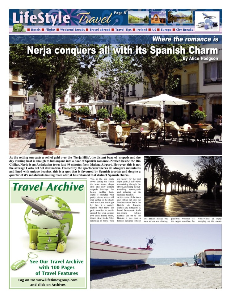 Nerja Conquers all with its Spanish Charm