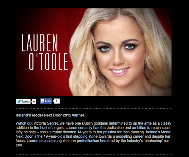 Alice Hodgson, writing services, copywriting, press release, Ireland's  Model Next Door.3